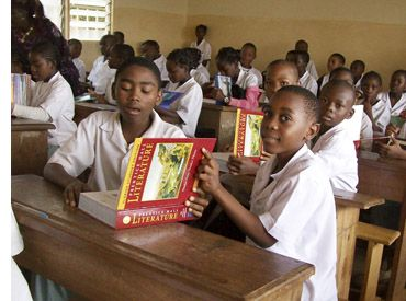 Cameroon's educational system is very popular in Africa