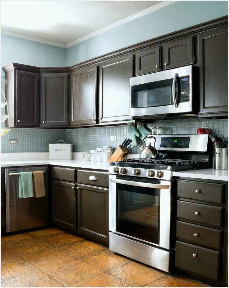 Paint Grade Kitchen Cabinets - How to Paint Builder Grade ...
