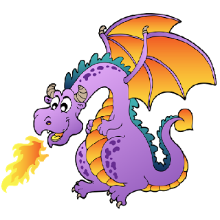 dragon clipart free funny dragons with flames cartoon clip art rh pinterest nz free dragon clipart images chinese dragon clipart free