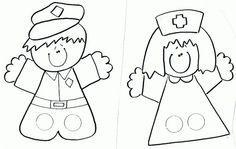 Marionetas De Dedos Para Imprimir Y Colorear Buscar Con
