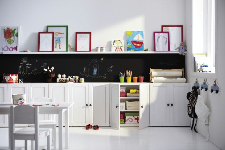 salle de jeux enfant id e de meubles de rangement. Black Bedroom Furniture Sets. Home Design Ideas