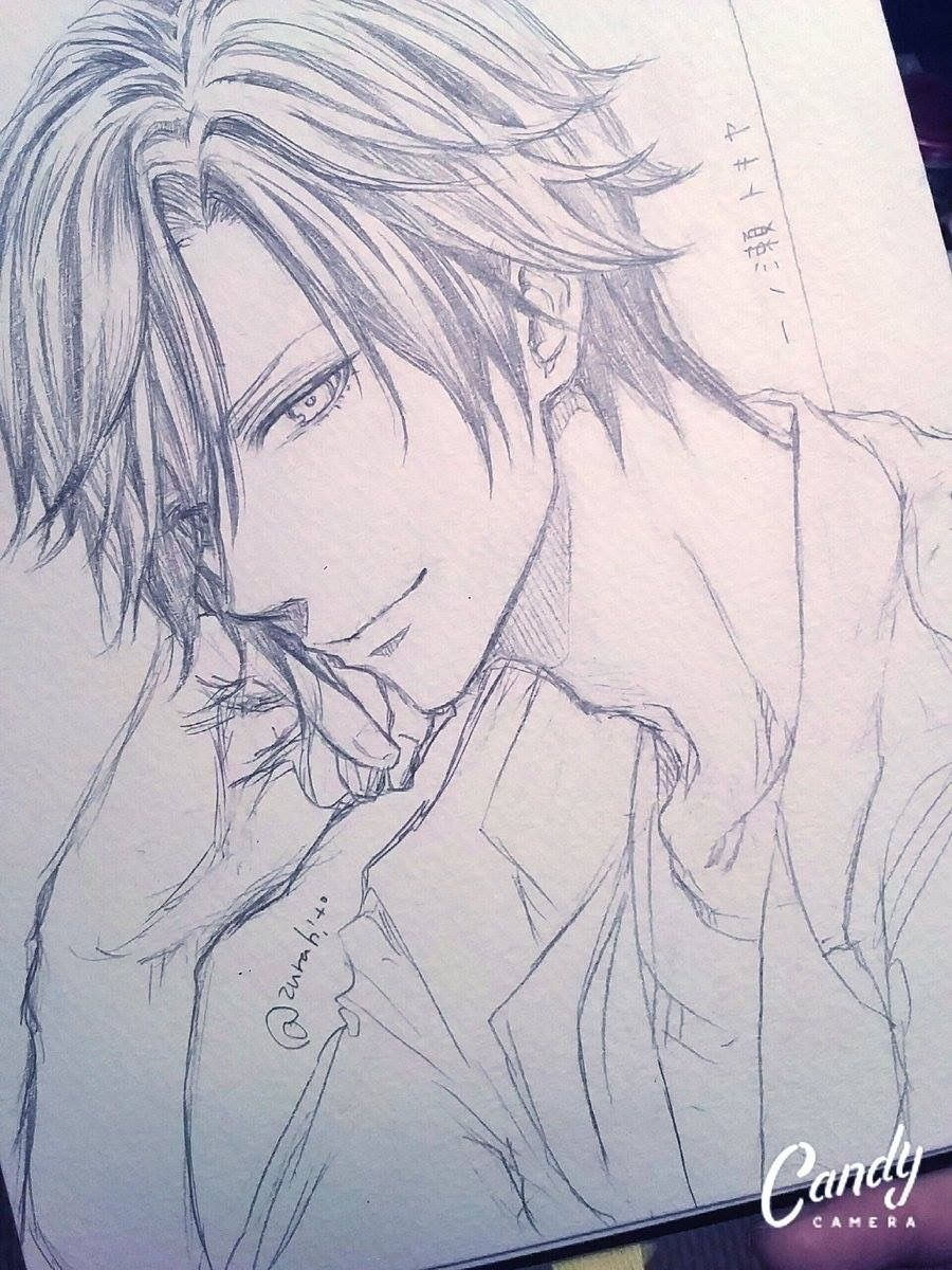 Pencil drawings · manga boy manga anime anime art hot anime boy anime boy base