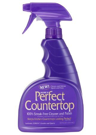 Hope S Perfect Counter Cleaning Pump Spray 22 Ounces Cleaning