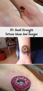 Photo of 35+ Small Strength Tattoos Ideas And Designs – The Life Ideas #tattoodesignsCo…