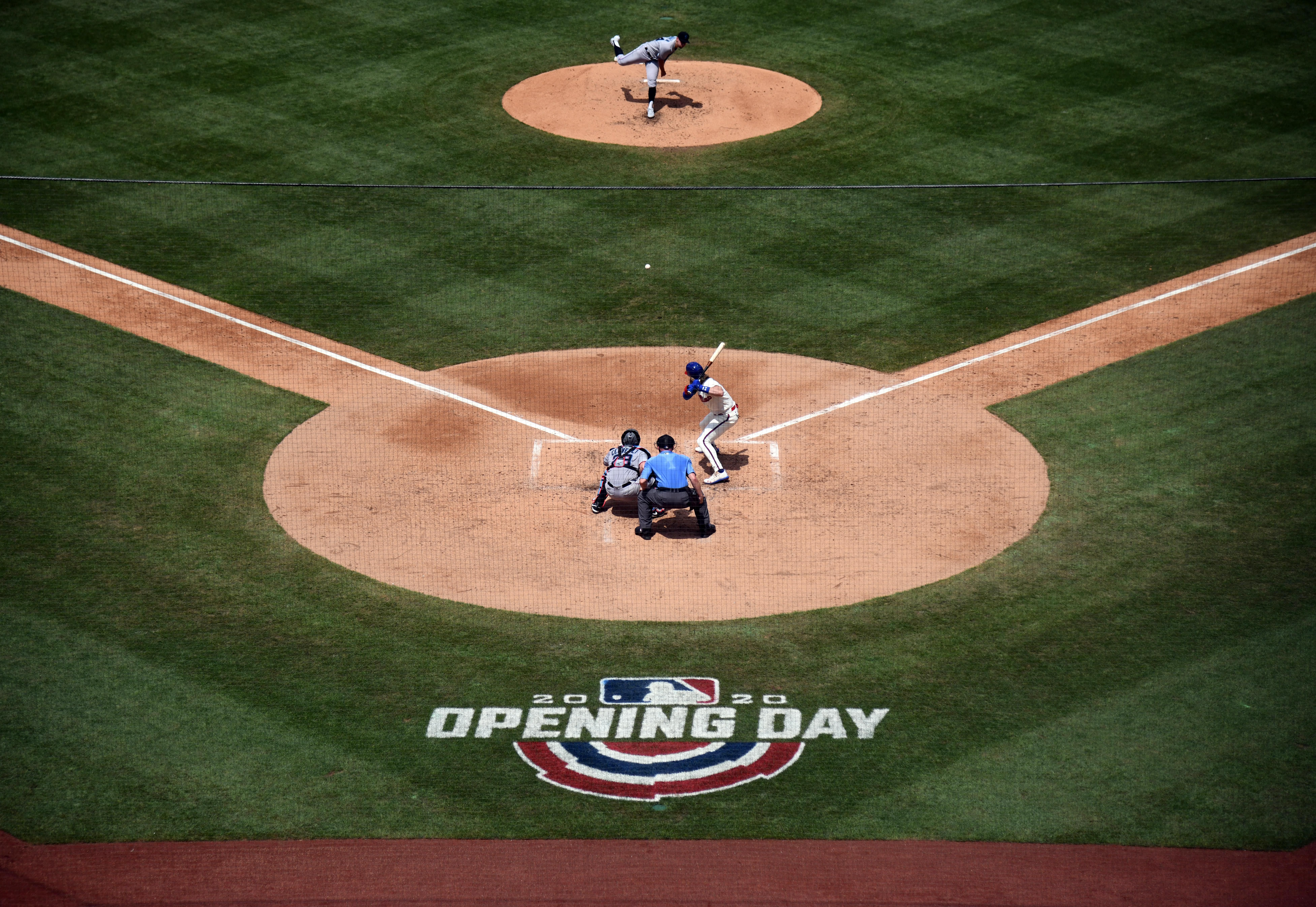 Mlb Commissioner Rob Manfred Warns Season Could Shut Down If Players Aren T More Careful In 2020 National Puppy Day National Doctors Day Usa Today Sports