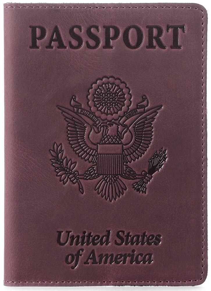 d8a51fa5794d Shvigel Leather Passport Cover - Holder - for Men & Women - Passport ...