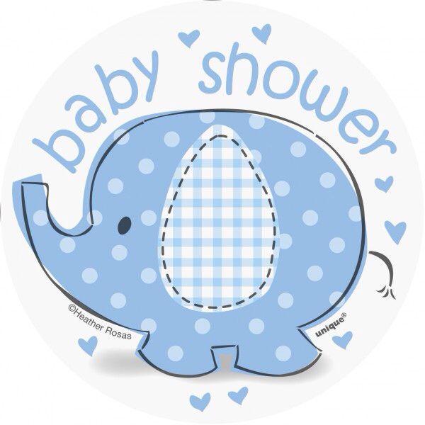 Elefante Baby shower | Baby shower elefantes, Etiquetas ...