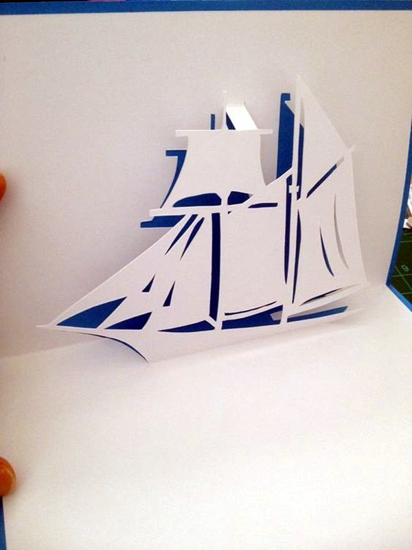 40 Extremely Creative Examples Of Kirigami Art A Hobby To Adopt Bored Art Pop Up Card Templates Pop Up Cards Paper Art