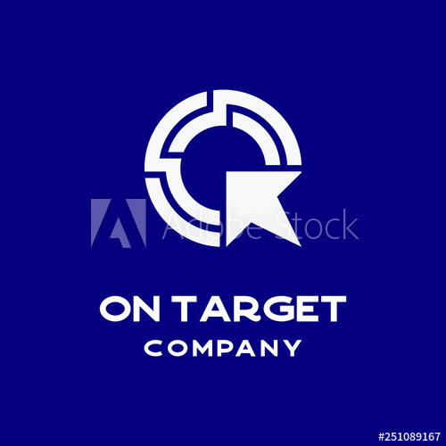 On Target Logo Icon Vector Template Buy This Stock Vector And Explore Similar Vectors At Adobe Stock Adobe Stock Logo Icons Logos Logo Concept
