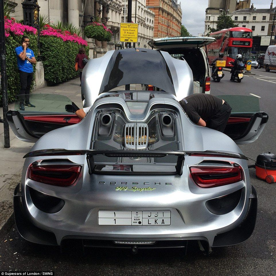 Millionaire Blocks Traffic On London Road To Get Porsche