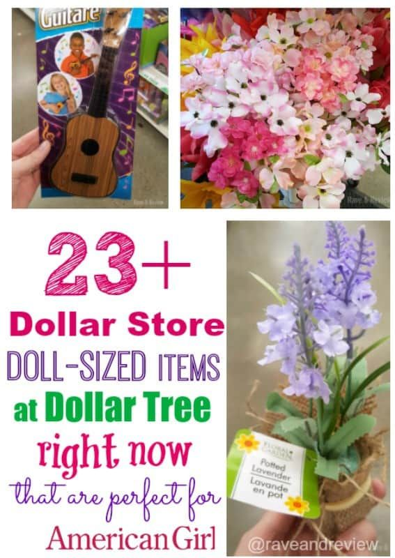 23 dollar store items you can find now for American Girl dolls