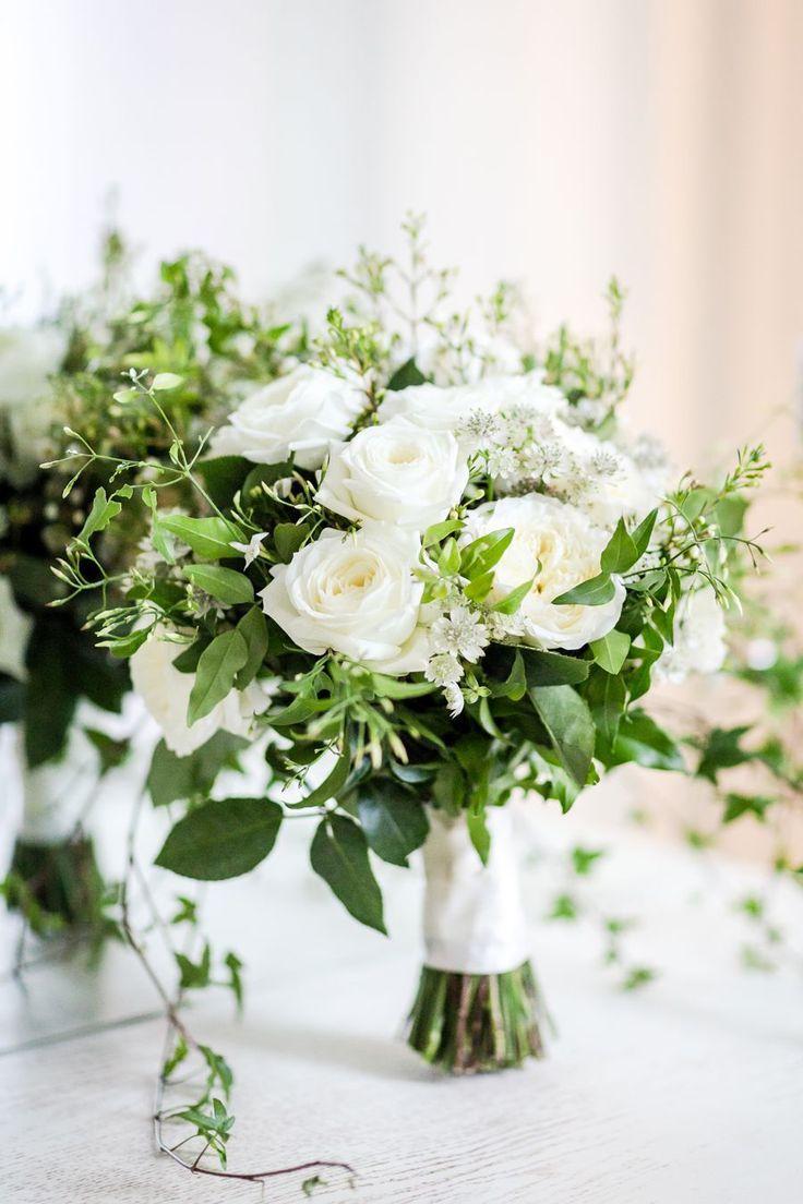 26 white wedding bouquet ideas