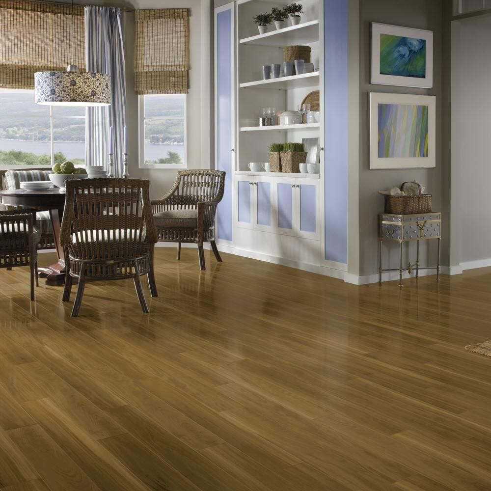 Bruce Fruitwood Spice 12 Mm Thick X 4 92 In Wide X 47 49 64 In Length Laminate Flooring 13 09 Sq Ft Case L304412e The Home Depot Flooring Wood Laminate Laminate Flooring