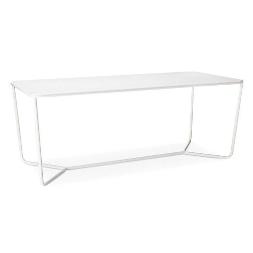 Rectangle Dining Table White   Modern By Dwell Magazine : Target
