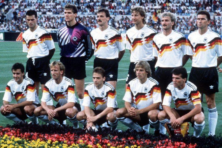 Wm 1990 Best Football Team Football Team Vintage