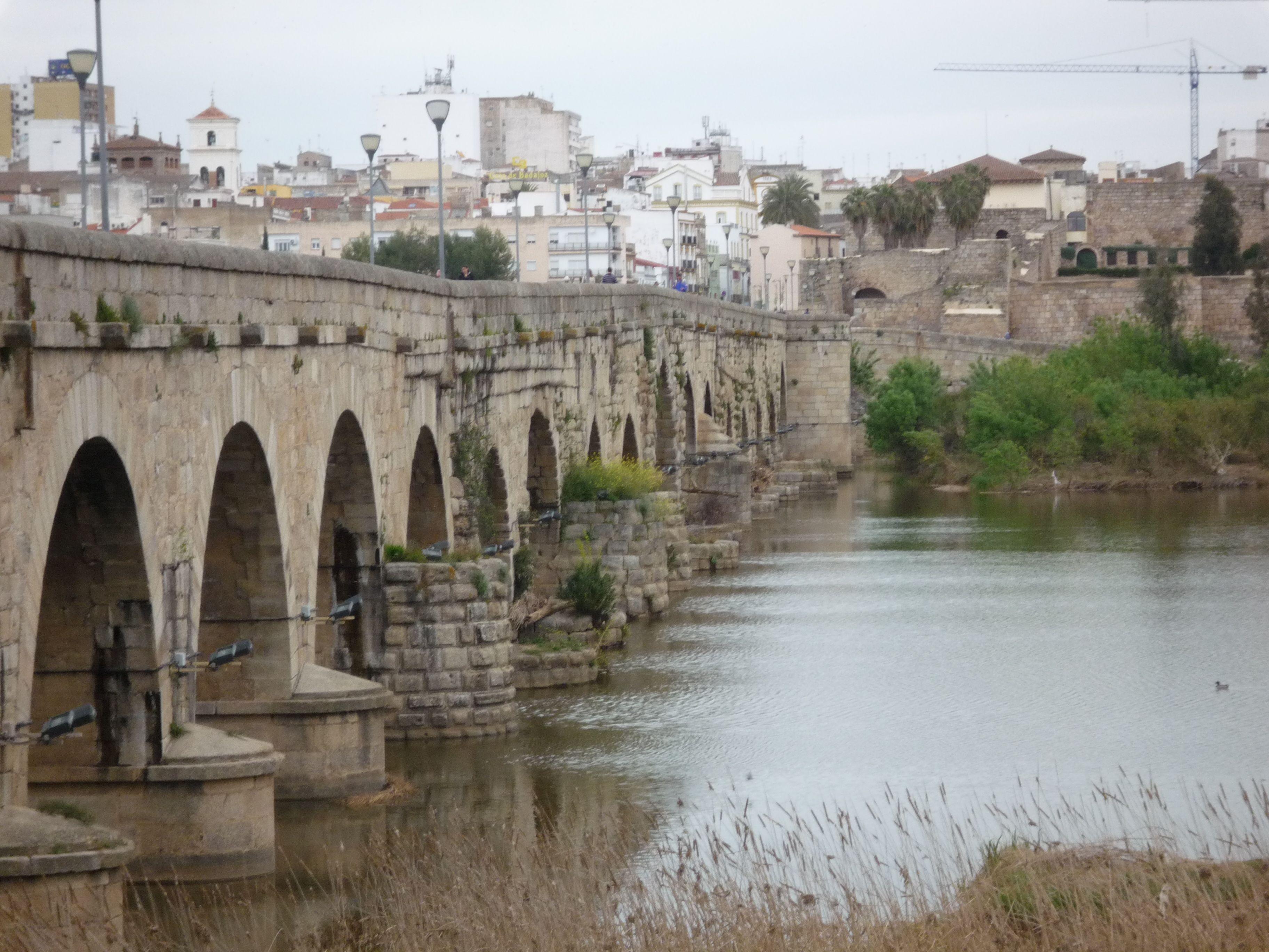 Ruta De La Plata A Santiago De Compostela Puente Romano Roman Roads Sevilla Spain