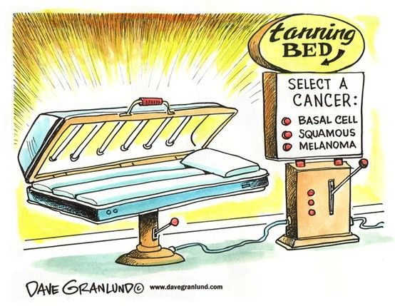 How Many Times In A Tanning Bed To Get Cancer