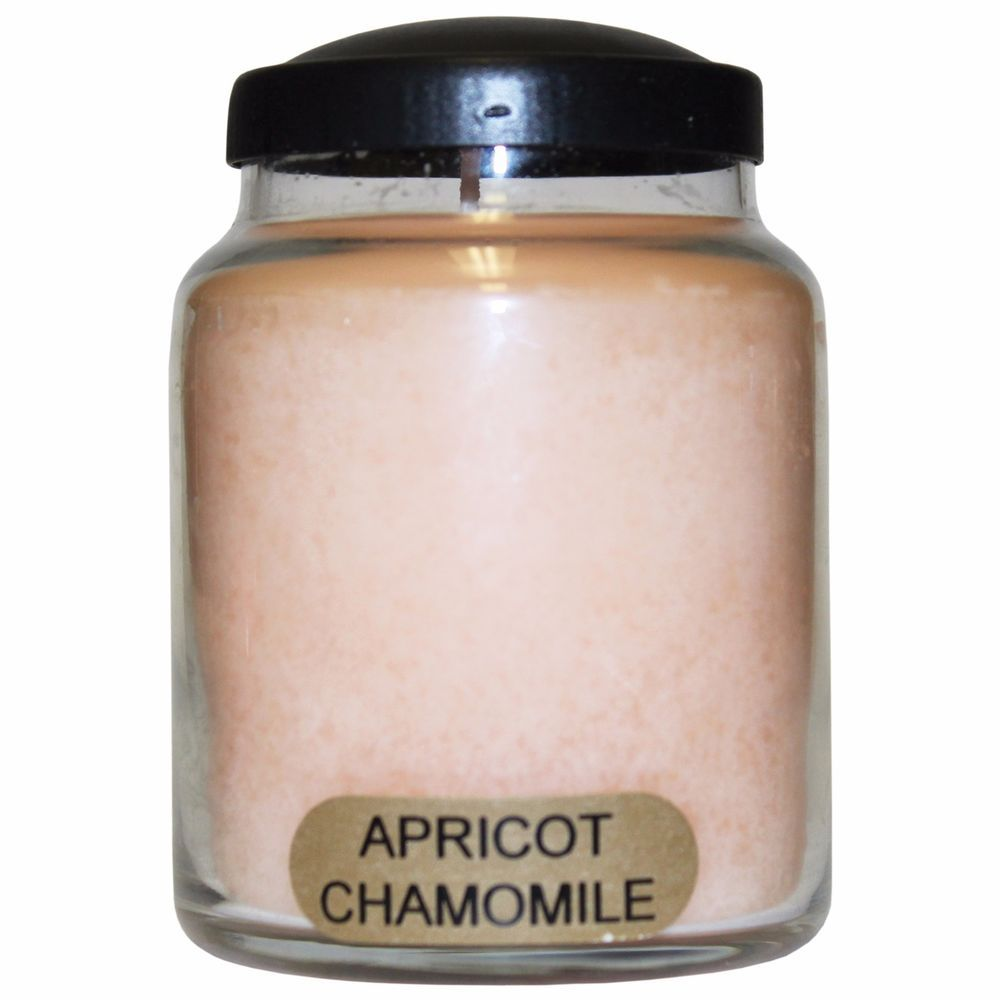 Apricot Chamomile Keeper's of the Light Jar Candle 6 oz. Baby Jar. Gorgeous blend of royal apricot, green pear, white plum, mandarin zest with grape, wild orchid, chamomile and clove. The scent is light and pleasurable, not overbearing. Super-scented from beginning to end of the jar. #SimplyAbundant #Candle #CheerfulGiver #Keepersofthelight