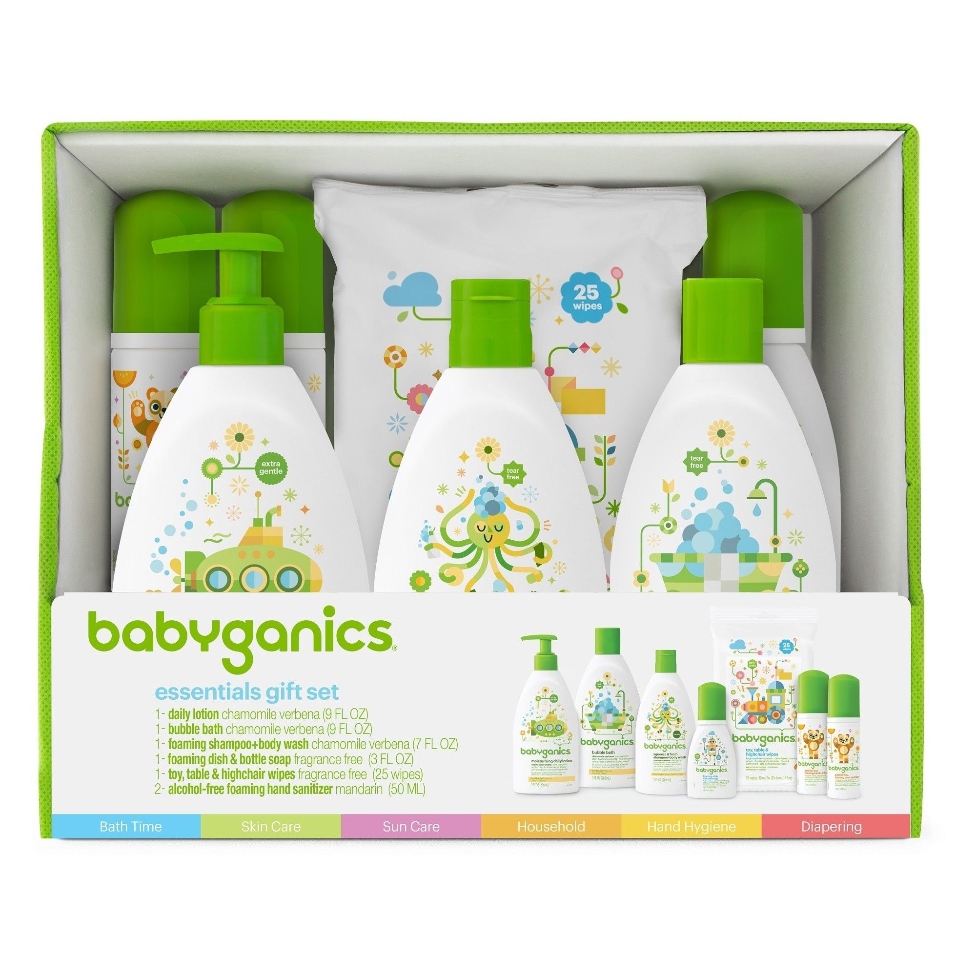 Babyganics Baby Safe World Essentials Kit Products Baby Safe