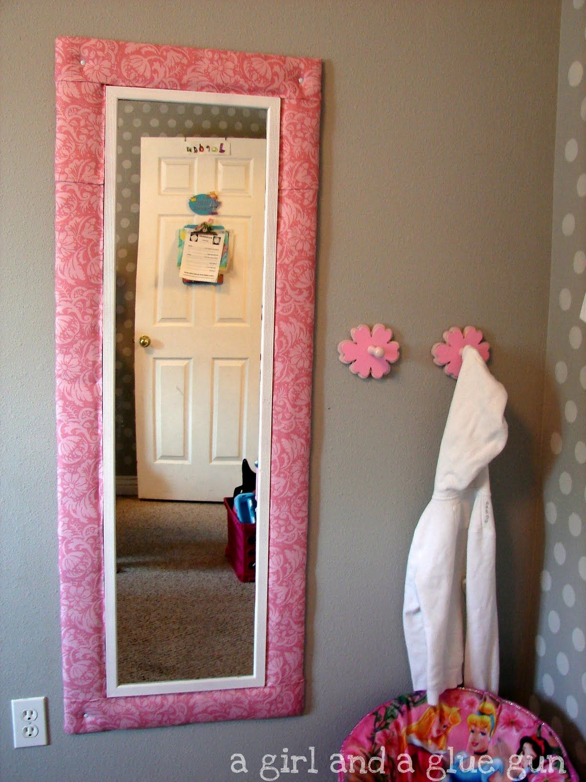a girl and a glue gun mirror mirror on the wall - Mirror For Girls Room