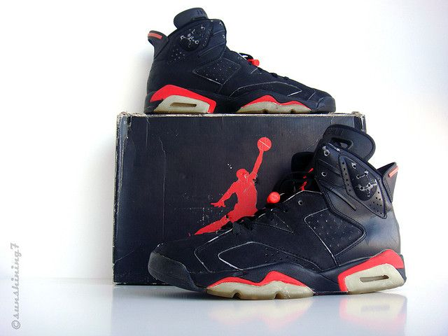 finest selection 215bd 37096 Sunshining7 - Nike Air Jordan VI - 1991 - OG Black Infrared III by  sunshining7, via Flickr