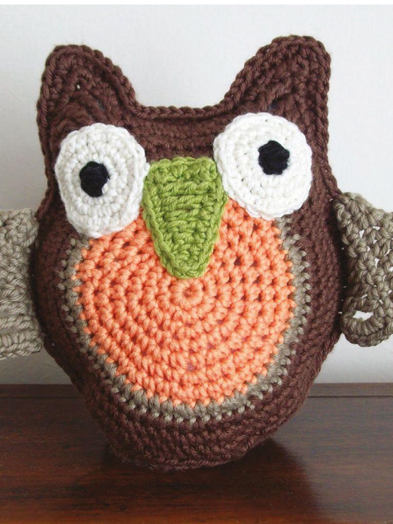 Ollie The Owl free crochet pattern | CROCHET UNIVERSITY | Pinterest ...