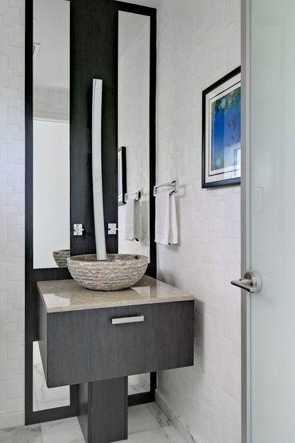25 Modern Powder Room Design Ideas Powder Room Design Modern