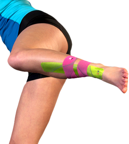 Taping Shin Splints Shin Splints Clinic Shin Splints Shin Splint Exercises Kinesiology Taping
