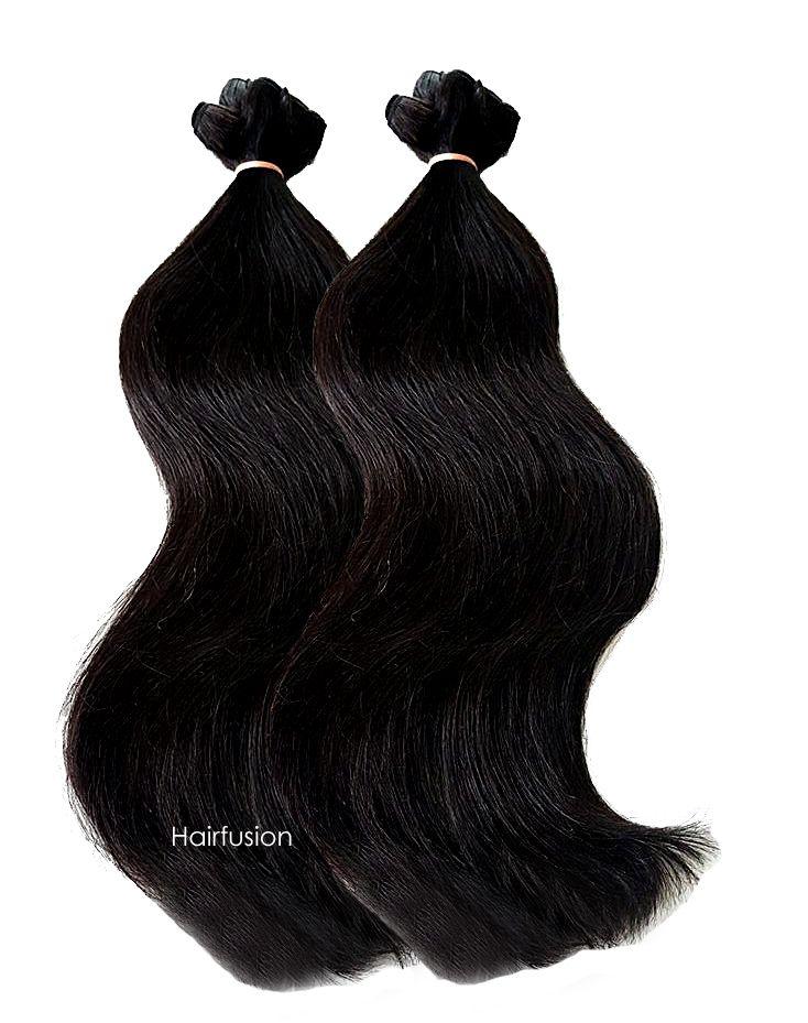Rohhaar von Hairfusion ist die hochwertiges Art der Haarverlängerung