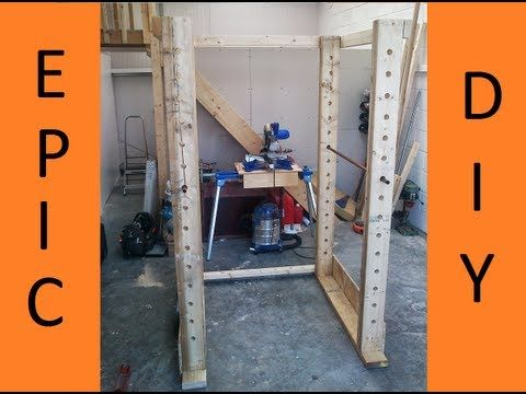 Power rack selber bauen  How to make Gym Power Rack Part 1 - YouTube | Workout stuff/ DIY ...