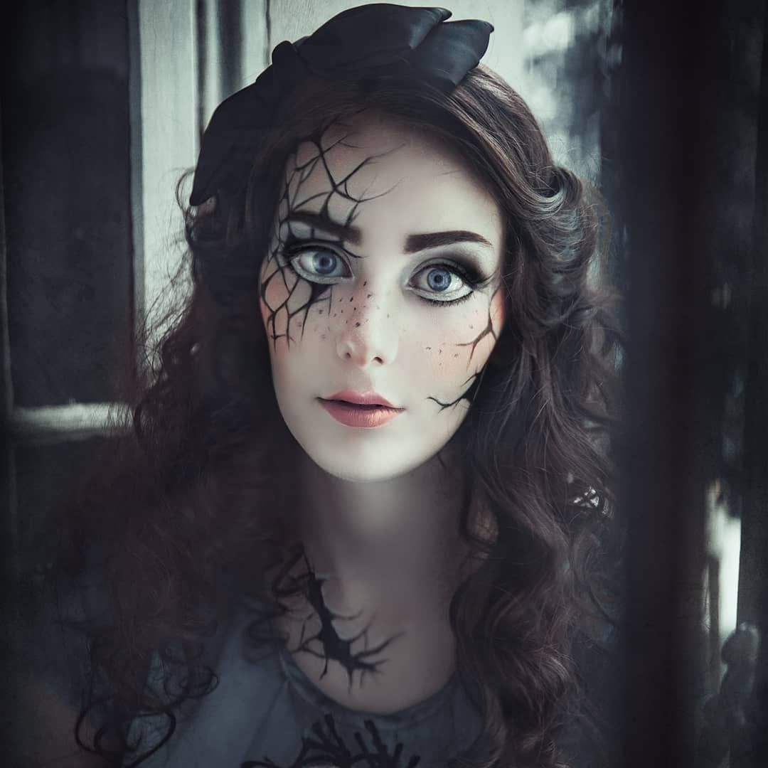 Ongekend Creepy Doll Make Up www.rekii-fotografie.de (With images)   Scary XG-49