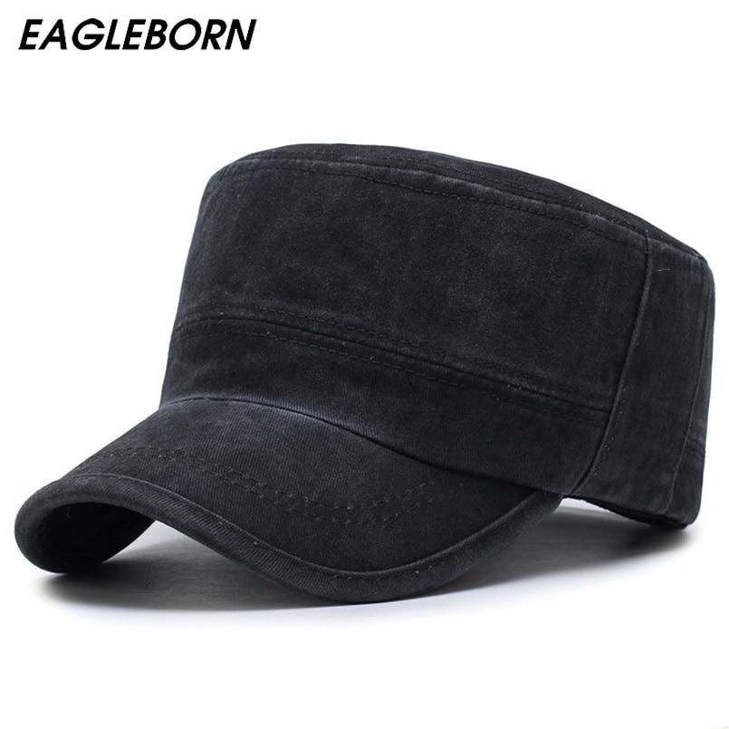 4cdb0cb5b3 Brand EAGLEBORN 2019 Vintage Military Hats Cotton Unisex Men Women ...