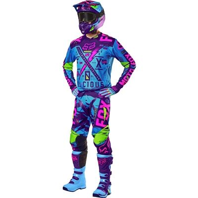 Fox Racing 2016 180 Vicious Jersey And Pant Package Blue White Available At Motocross Giant Youth Motocross Gear Dirt Bike Gear Motocross Gear