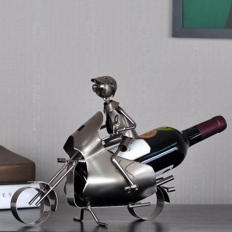 Economico metallo ferro vino moto cremagliera famiglia decorazione della casa regalo birra vino bottle holder, Acquisti di Qualità Cremagliera di vino direttamente da Fornitori metallo ferro vino moto cremagliera famiglia decorazione della casa regalo birra vino bottle holder Cinesi.