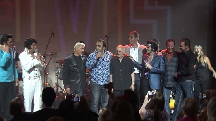 Joe Esposito and friends pay tribute to Martha Esposito and Elvis Presley in a fabulous finale