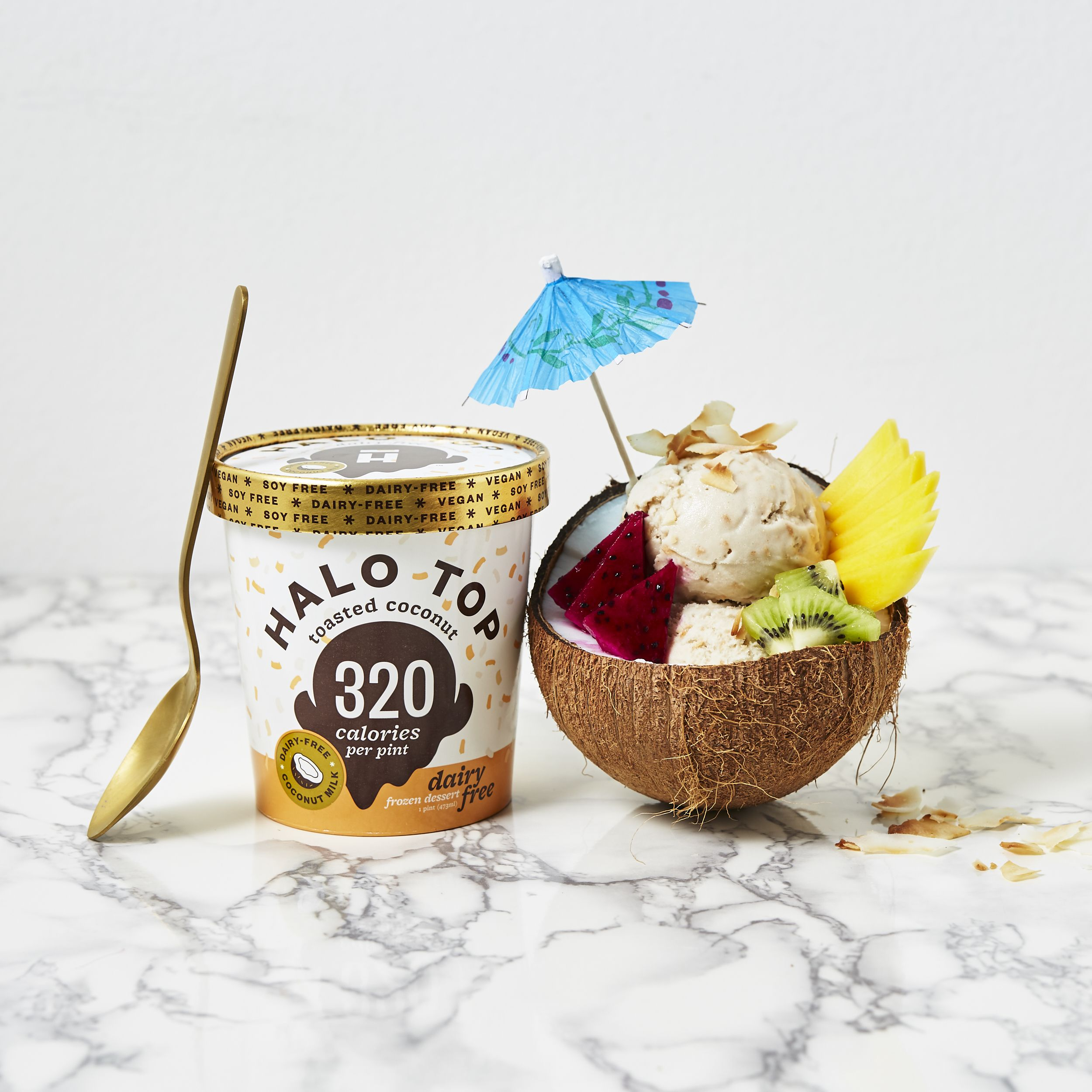 Halo Top Alicia Cho Photography Halo Top Ice Cream Tubs
