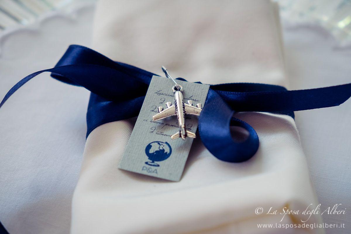 Segnaposto Matrimonio Blu.Segnaposto Around The World You Me Blu Wedding Matrimonio