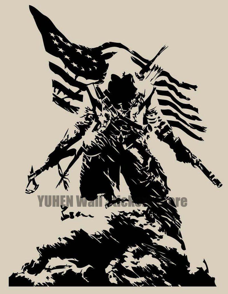 Assassin Creed Wall Decal Assassins creed logo