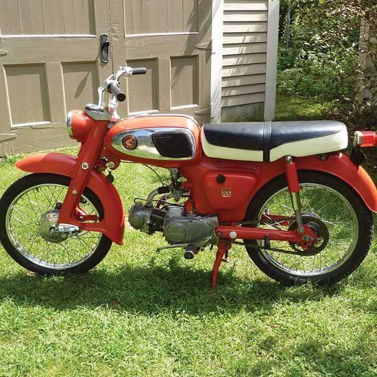 Jon Neuburger S 1965 Honda S65 Classic Japanese Motorcycles Motorcycle Classics Japanese Motorcycle Motorcycle Honda