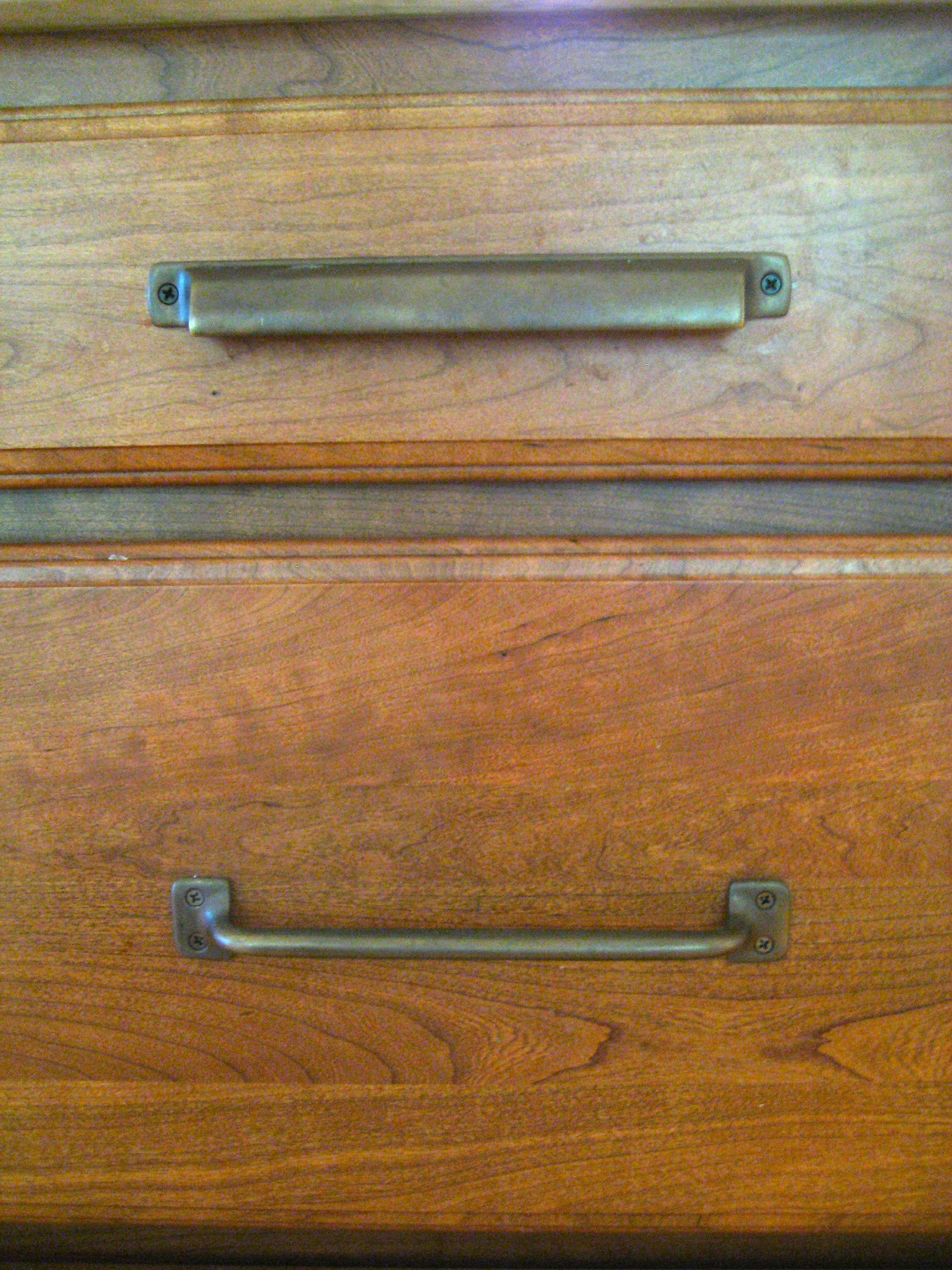 Restoration Hardware Duluth Cup Pull Aubrey In Custom Finish By Horton Bres