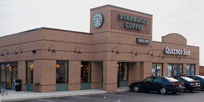 Starbucksquiznos Breezewood Pa Woodbury And Adrian Brick