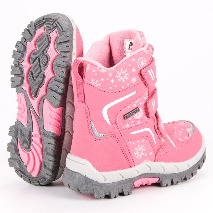 Kozaki Dla Dzieci Americanclub American Club Rozowe Sniegowce American Saucony Sneaker Sneakers Shoes