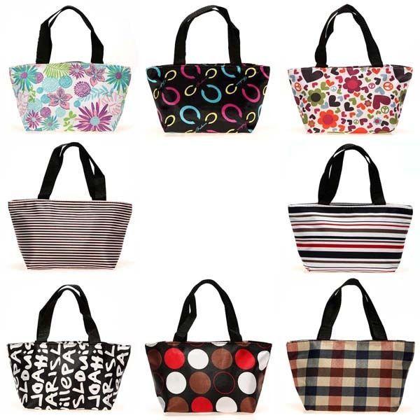 Picnic Lunch Dining Shopping Travel Tote Bag Purse Zipper Organizer Handbag Box  #New #TotesShoppers