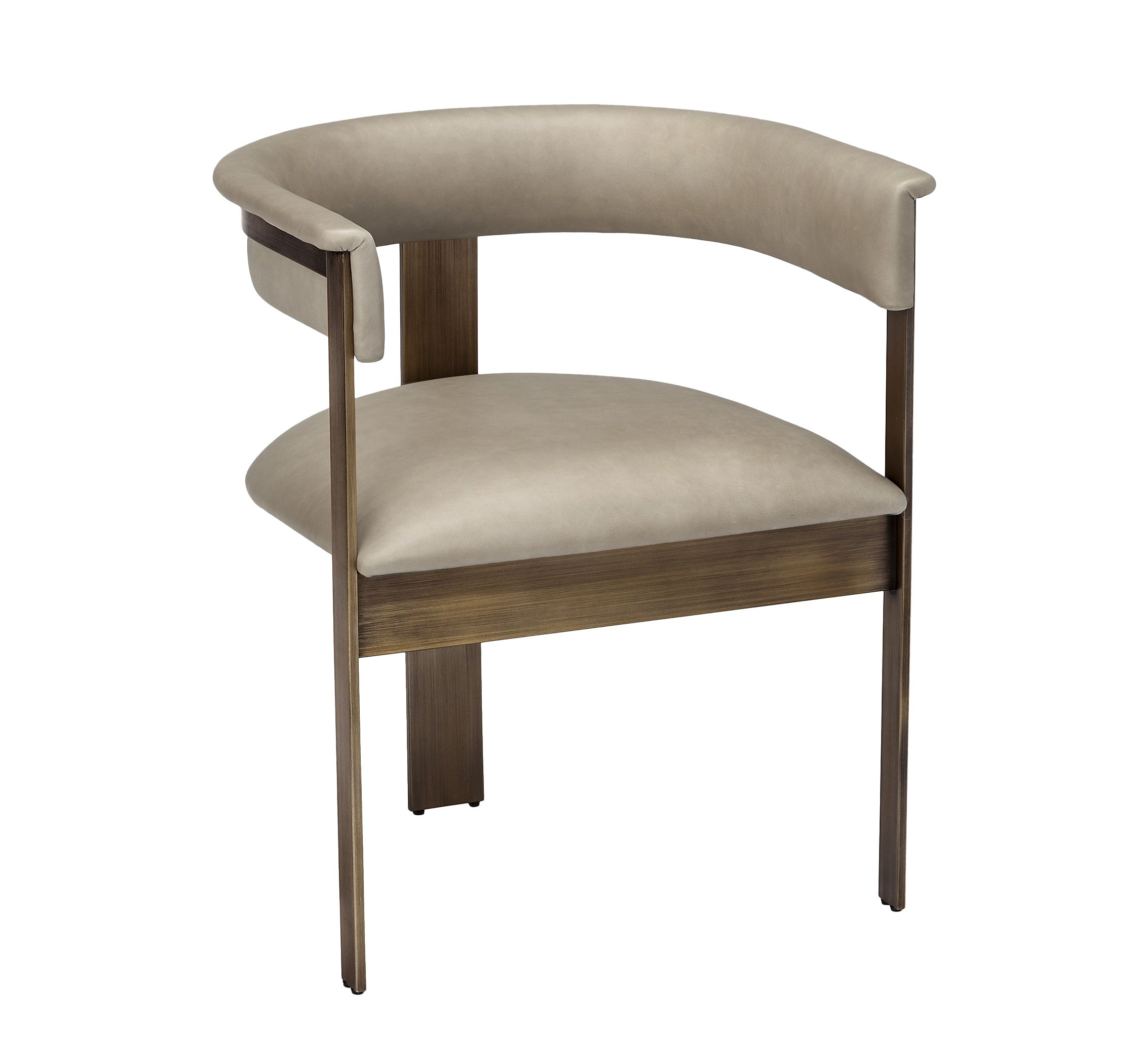 Darcy Dining Chair Taupe Upholstered Dining Chairs Dining