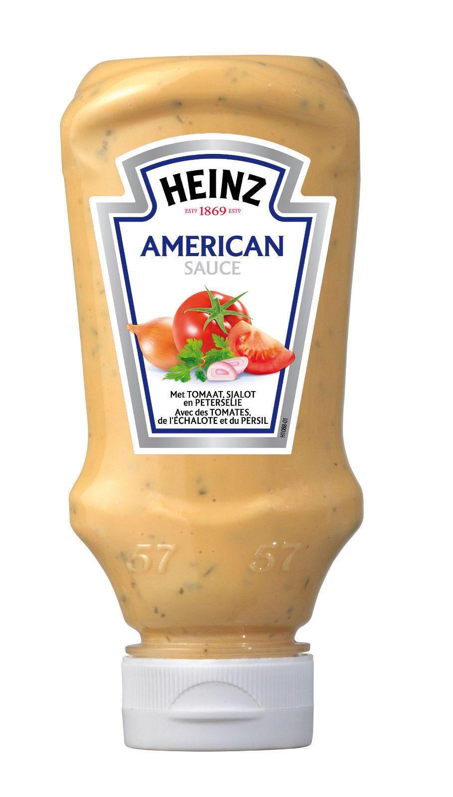 Dressing À L Américaine $4.99 - heinz american hamburger sauce 220ml 225g #ebay