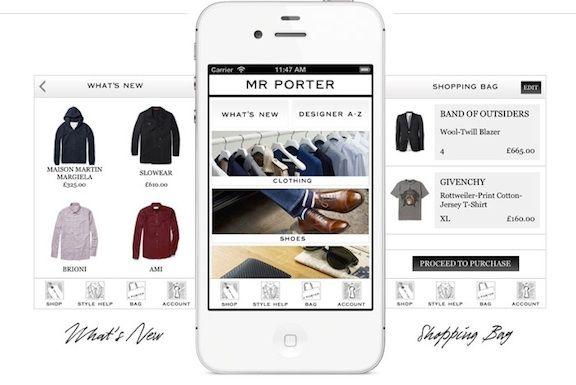 Mr Porter Mobile App Google Search Designer Clothes For Men Mr Porter Style Mr Porter