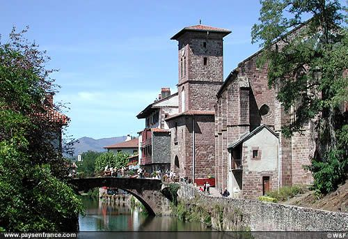 SaintJeanPieddePort France Places To Go Pinterest Basque - Location st jean pied de port