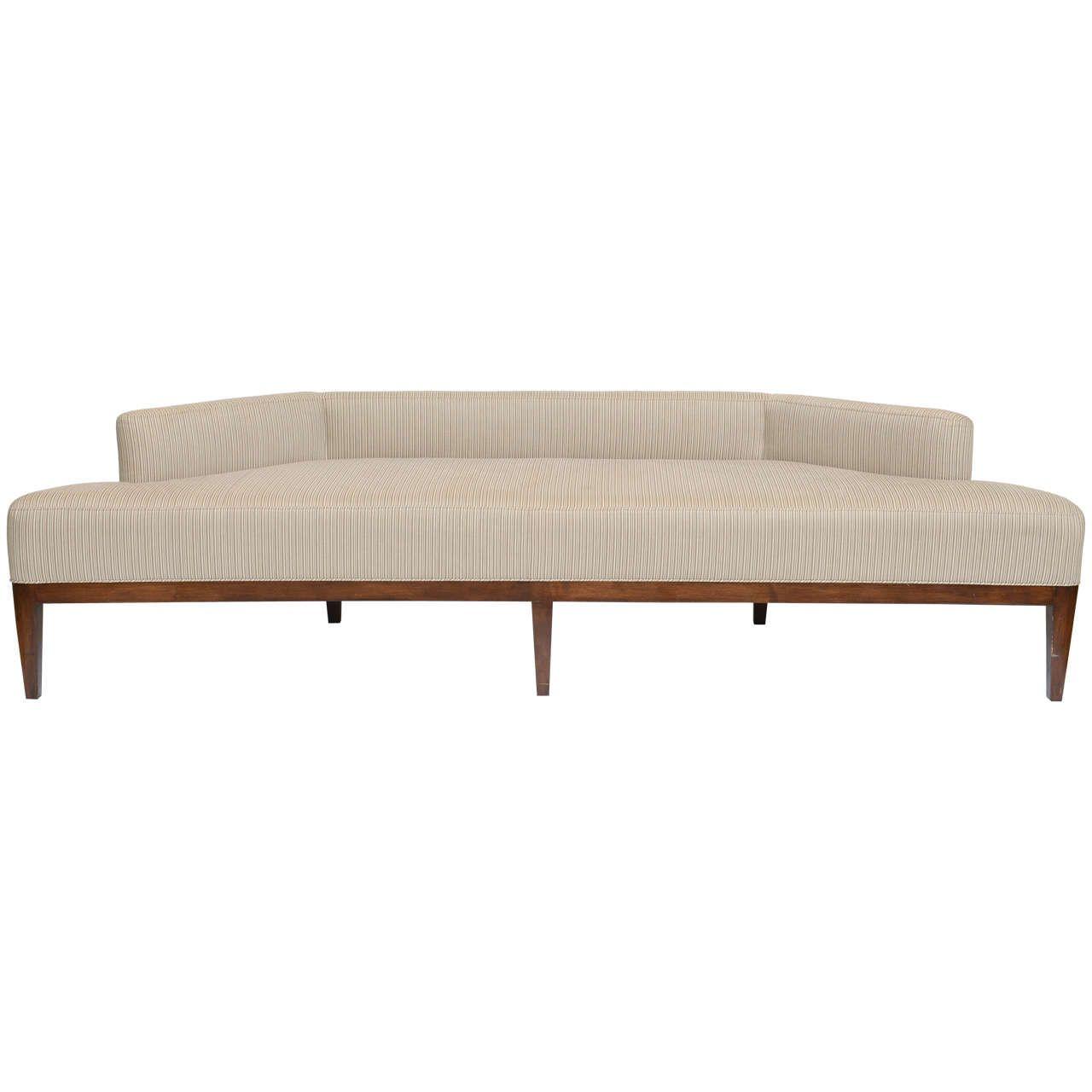 Exceptional Sleek Low Angular Sofa/Settee | SOFAS | Settee ...