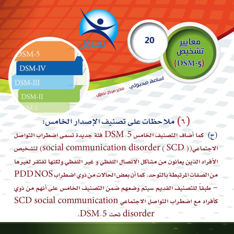 Pin By اسامة مدبولى On معايير تشخيص Dsm5 Social Communication Disorder Social Communication Dsm Iv