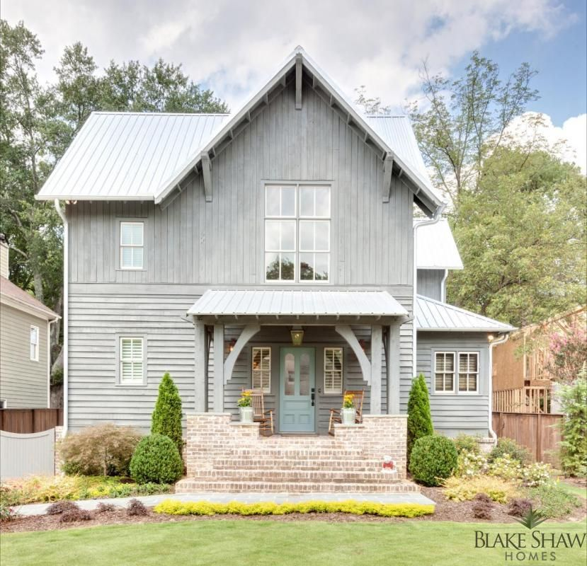 Rustic Exterior of Modern Mountain Home | Luxe | Exteriors ...